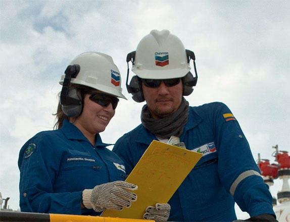 Nhân viên Chevron luôn cảm thấy họ được công ty trân trọng