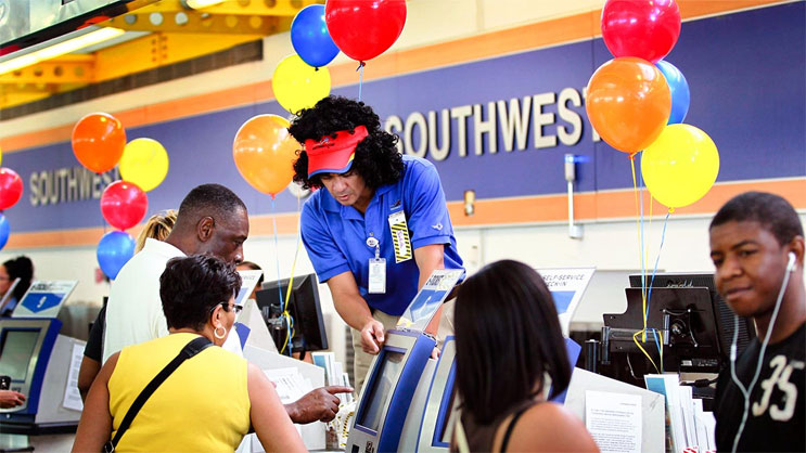Southwest Airlines tìm mọi cách làm hài lòng khách hàng