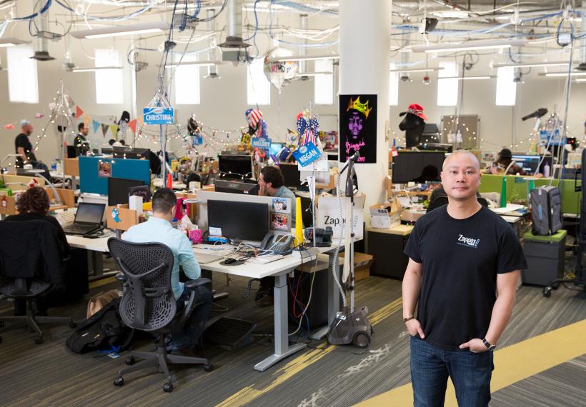 Tại Zappos nền văn hóa bắt đầu từ buổi phỏng vấn đầu tiên