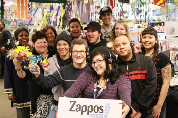 Zappos là một trong những công ty có nền văn hóa tuyệt vời