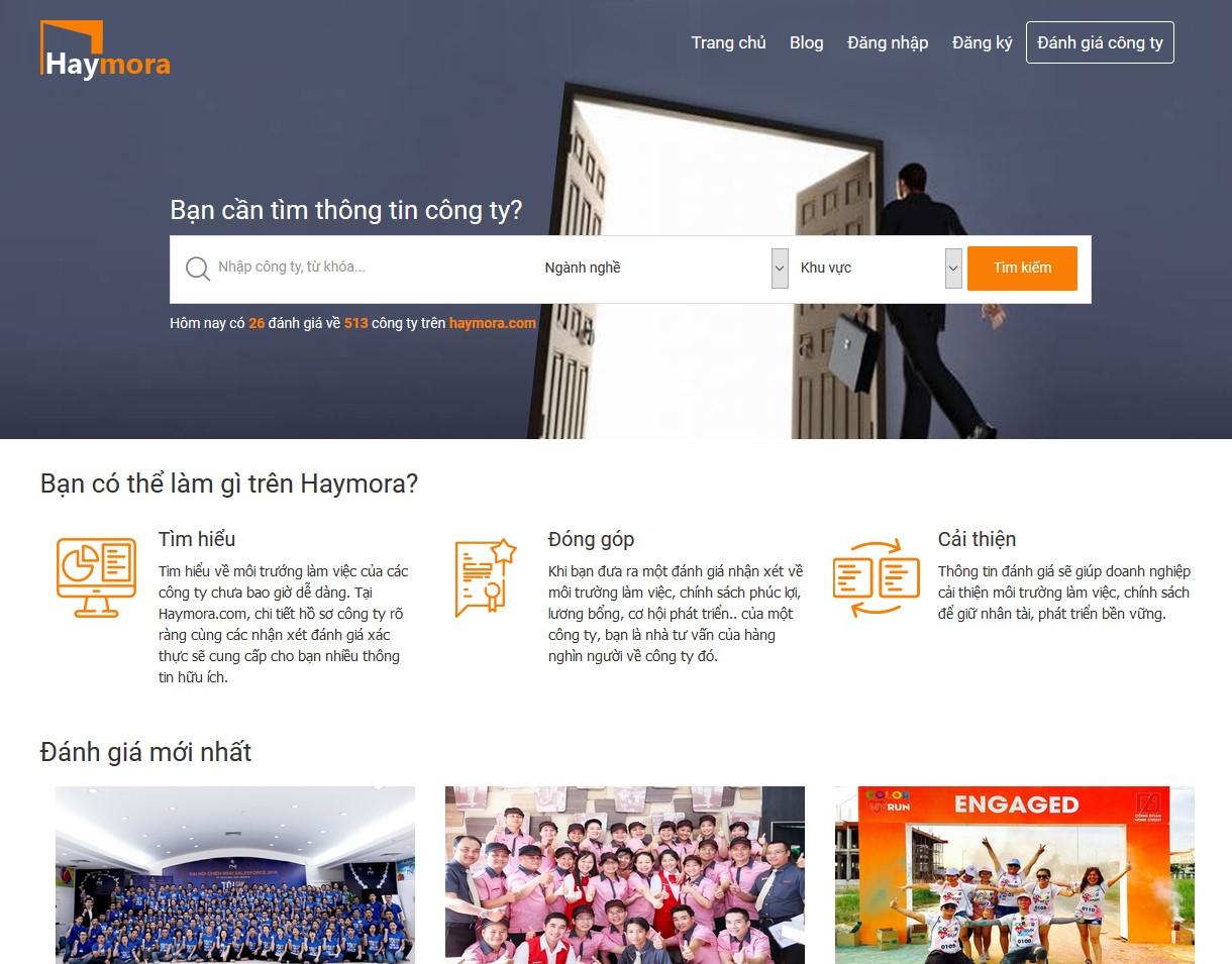 Đánh giá công ty tại Haymora