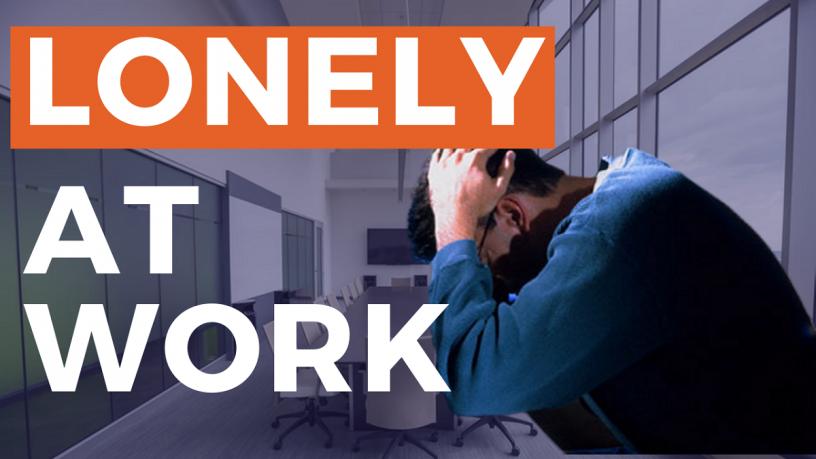 Cô đơn nơi công sở - Những bức tường vô hình bạn phải vượt qua
