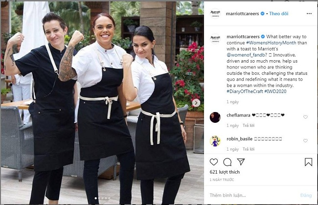 Marriott Xây dựng thương hiệu tuyển dụng hiệu quả trên truyền thông xã hội