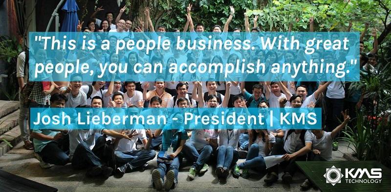 KMS Technology tự hào là nơi làm việc lý tưởng cho các tài năng trẻ