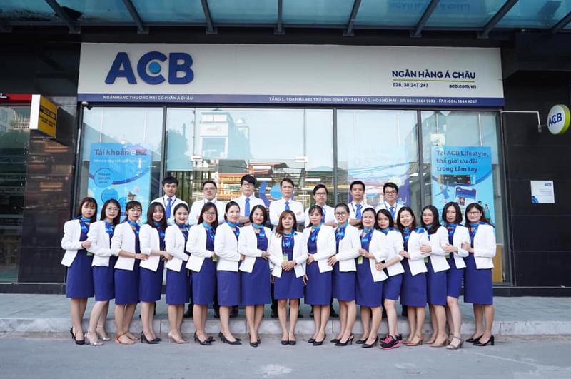 Ngân hàng ACB nhiều năm liền là nơi làm việc tốt nhất Châu Á